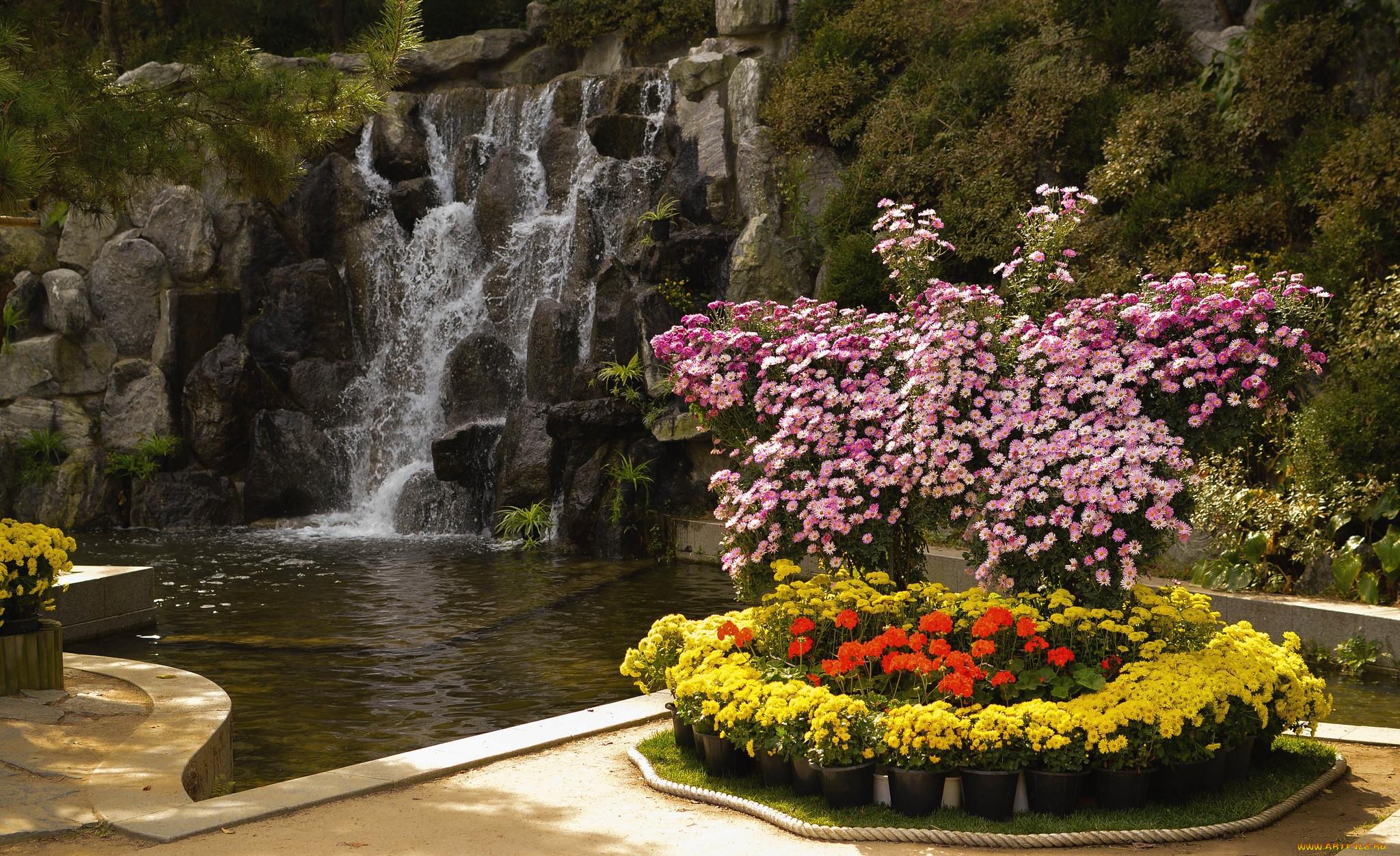 букет водопад из цветов фото высокое разрешение очень